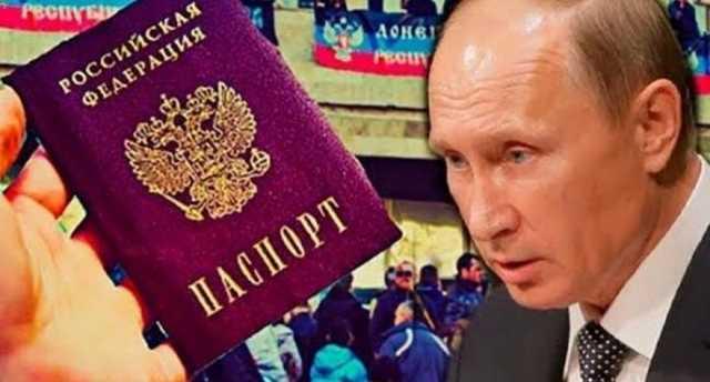 Россияне агрессивно прокомментировали решение Путина о выдаче паспортов РФ в ОРДЛО (видео)