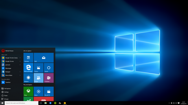 �� Windows 10 ������ ����� ���������� �������