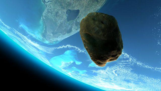 NASA: Гигантский астероид на огромной скорости приближается к Земле