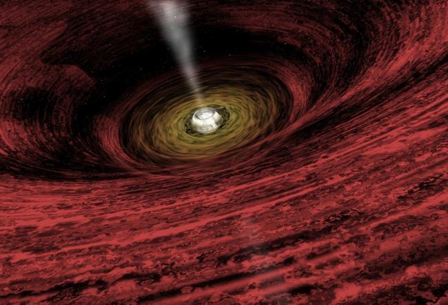 Радиотелескопы впервые зафиксировали, как черная дыра разрушила звезду