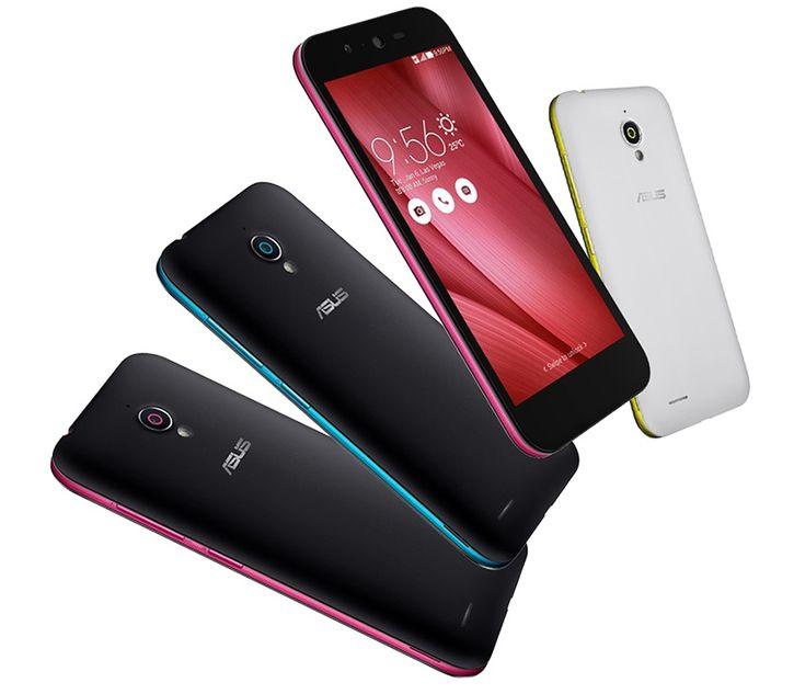 Asus представила яркий и недорогой смартфон Live