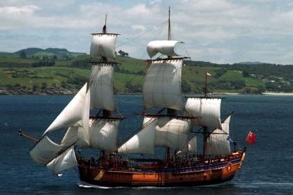 Обнаружены обломки легендарного корабля Джеймса Кука