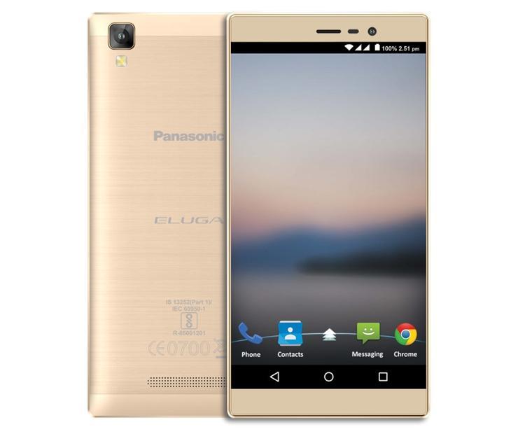 Смартфон Panasonic Eluga A2 наделён аккумулятором ёмкостью 4000 мА·ч