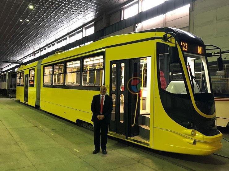 В Египте украинский трамвай начал перевозки пассажиров (фото)