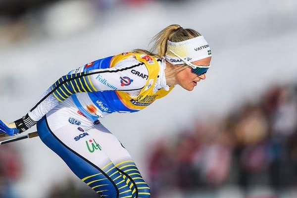 Российская лыжница палкой ударила шведскую соперницу