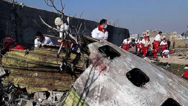 Ракета разорвалась возле кабины пилотов. Они погибли мгновенно: Собраны все обломки самолёта МАУ