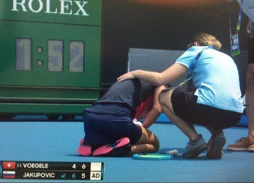 Нечем дышать! Теннисистка чуть не потеряла сознание из-за смога от пожаров (видео)
