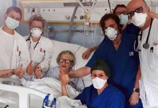 В Италии произошло настоящее чудо: 95-летняя пациентка победила коронавирус